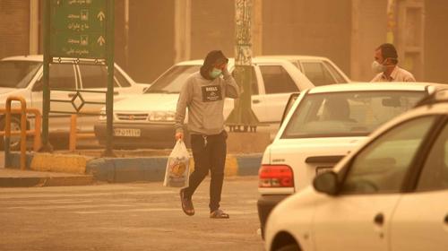 هوای خوزستان در تعلیق (اسلاید شو)