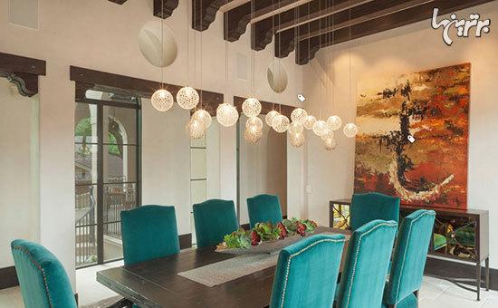 تعبیه نور مناسب در دکوراسیون اتاقهای خانه