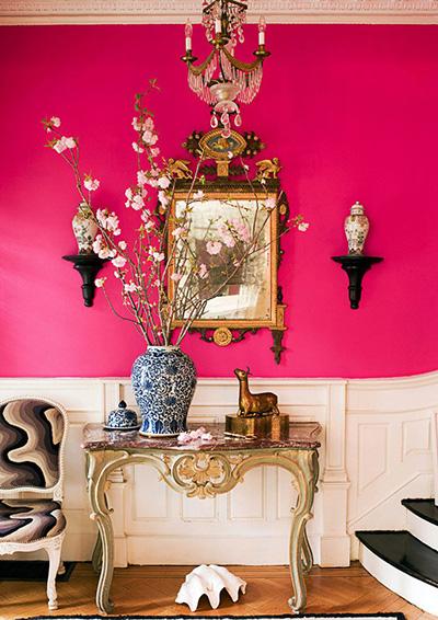 انتخاب رنگ اتاق بر اساس اصول فنگ شویی