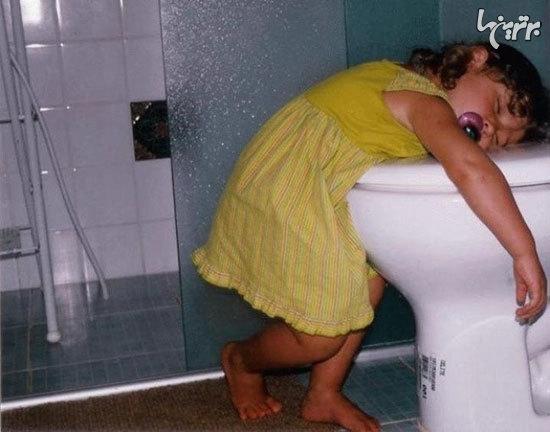 تصاویری خنده دار از شیطنتهای کودکان