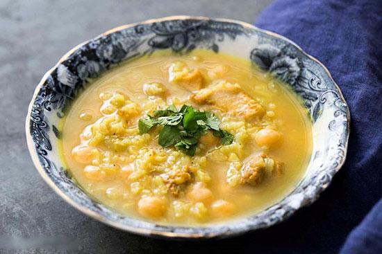 سوپ های پاییزی و زمستانی(1) (اسلایدشو- Notif)