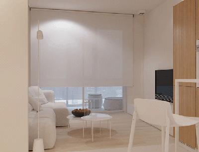 طراحی داخلی آپارتمانی یک خوابه و 52 متری