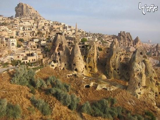 شهر زیرزمینی که زمانی ۲۰۰۰۰ نفر جمعیت داشته است