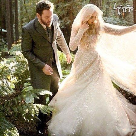 گرانترین لباسهای عروس میان ستارگان