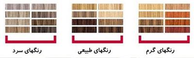 چه رنگ مویی به من میاد؟