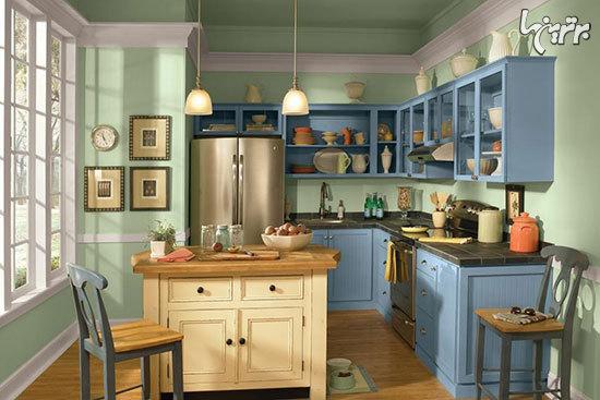 ۱۲ روش ساده برای بهبود ظاهر کابینتهای آشپزخانه