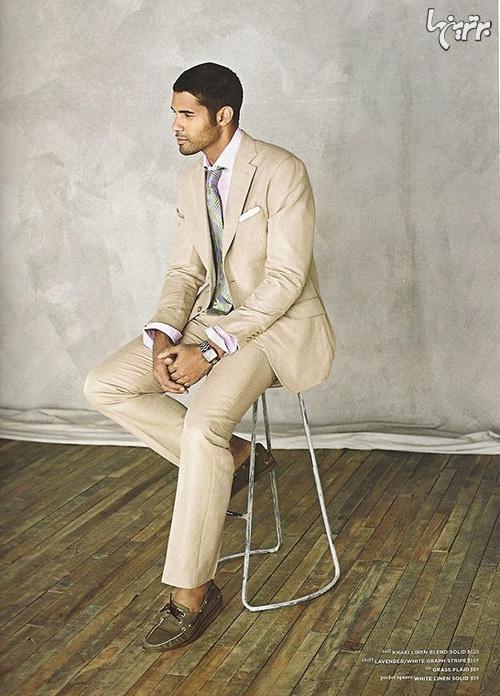 راهنمای پوشیدن کت خاکی رنگ برای آقایان