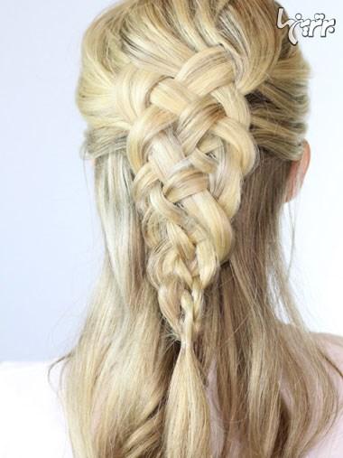 مدل های زیبای بستن مو، مخصوص میهمانی