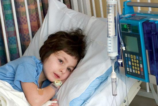 ۷ سرطان شایع در کودکان