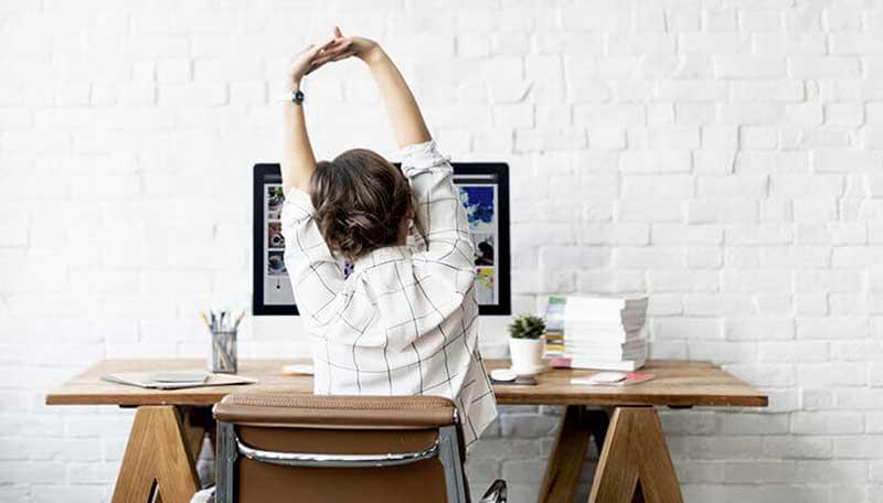 حرکات ورزش یوگا برای کاهش استرس