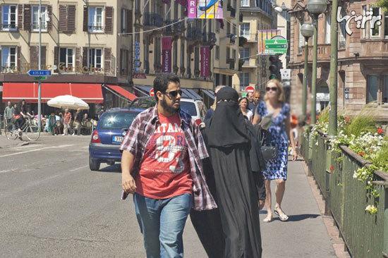 ۱۰ مکانی که پوشیدن لباس زنانه اسلامی در آنجا ممنوع است